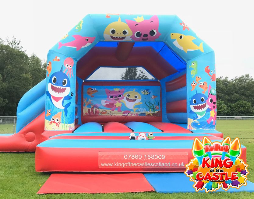 Baby Shark Bouncy Castle with Slide