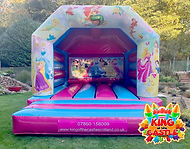 Princess Bouncy Castle Hire in Fife