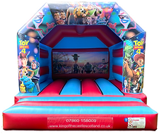 Toy Story Bouncy Castle Hire Fife