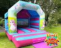 Unicorn Bouncy Castle Hire Larbert