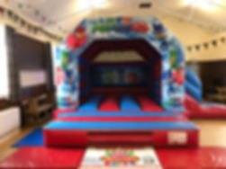 PJ Masks Bouncy Castle with Slide
