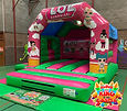 LOL Surprise Disco Bouncy Castle with Slide