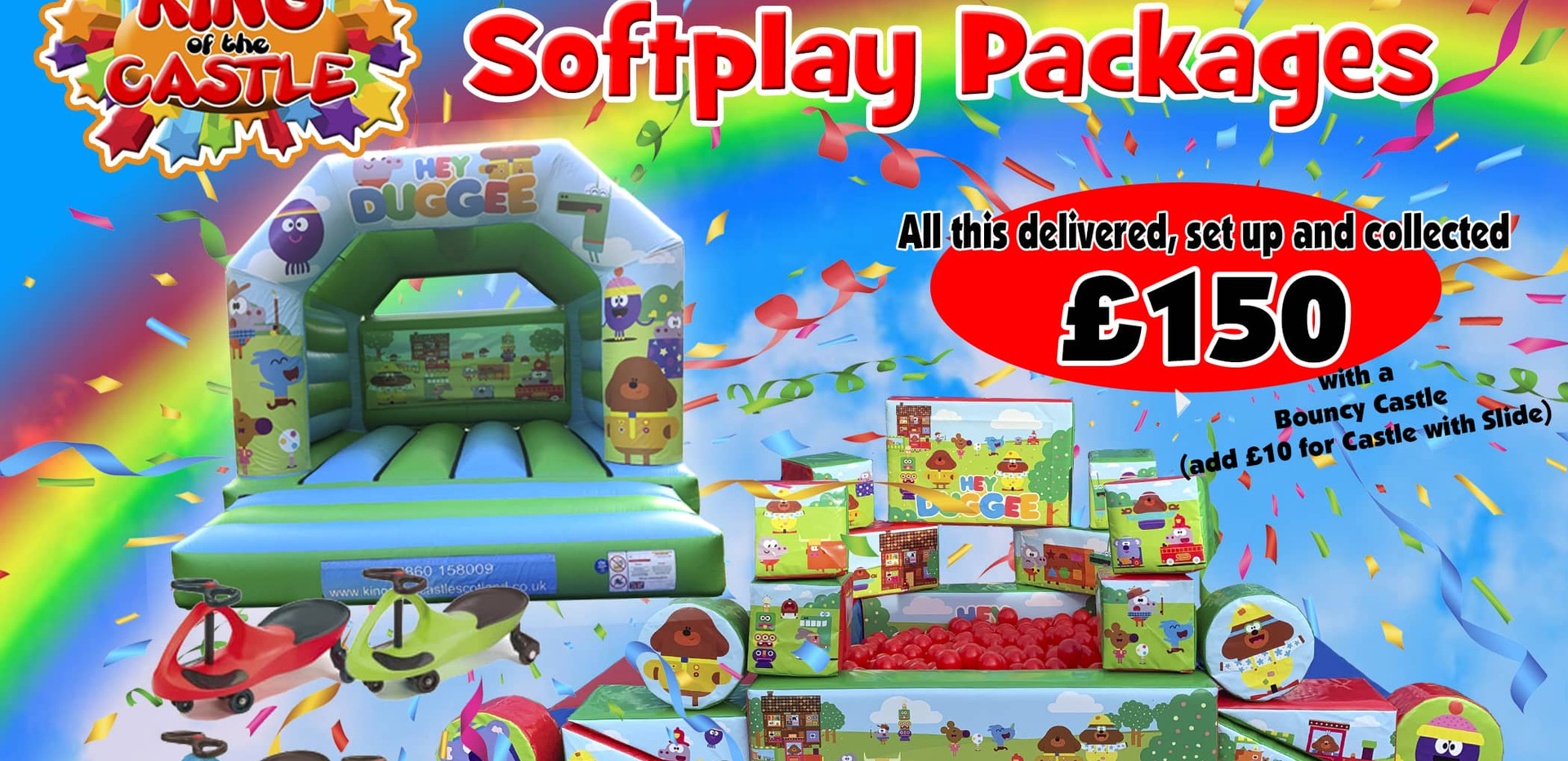 Soft Play - Hey Duggee Package - UPDATED