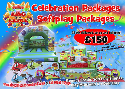 Toddler Softplay and Bouncy Castle Package Fife