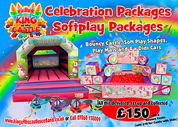 Unicorn Softplay and Bouncy Castle Package