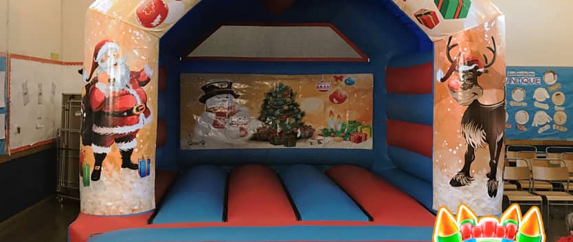Christmas Bouncy Castle