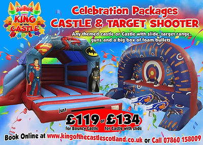 Bouncy Castle and Target Range