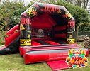 Toxic Bouncy Castle with Slide