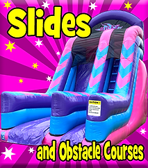 Inflatable Slide and Obstacle Course Hire in Fife, Clackmannanshire, Falkirk and Kinross