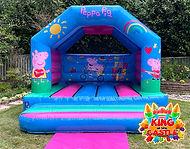 Peppa Pig Bouncy Castle Hire in Fife