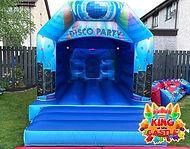 Disco Bouncy Castle Hire in Fife