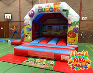 Hey Duggee Bouncy Castle Hire in Fife and Falkirk