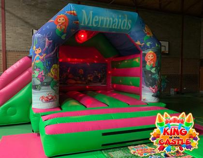 Mermaid Disco Bouncy Castle