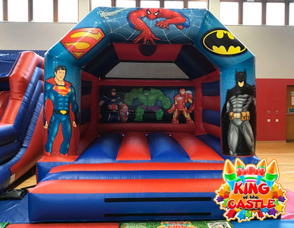 Super Heroes Bouncy Castle