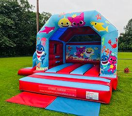 Baby Shark Bouncy Castle with Slide