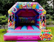 TikTok Bouncy Castle Hire in Fife, Falkirk and Clackmannanshire