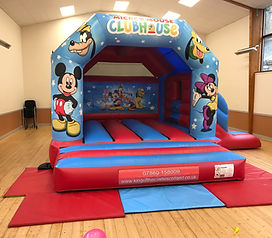 Mickey & Minnie Bounc Castle with Slide