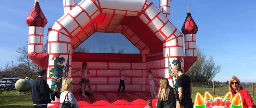 Camelot Adult Bouncy Castle