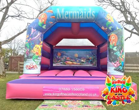 Mermaid Bouncy Castle