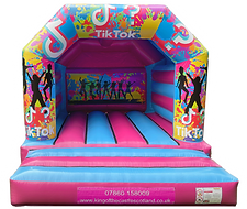 TikTok Bouncy Castle Hire Fife