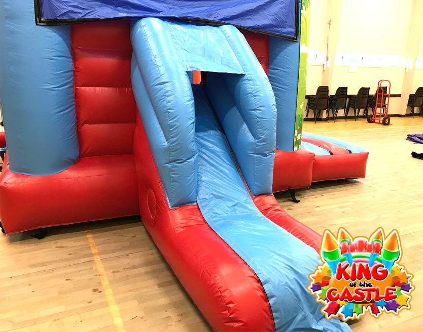 Trolls Bouncy Castle with Slide