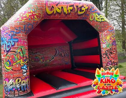 Graffiti Bouncy Castle
