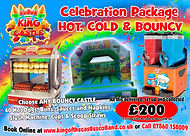 Bouncy Castle, Hot Dogs and Slush