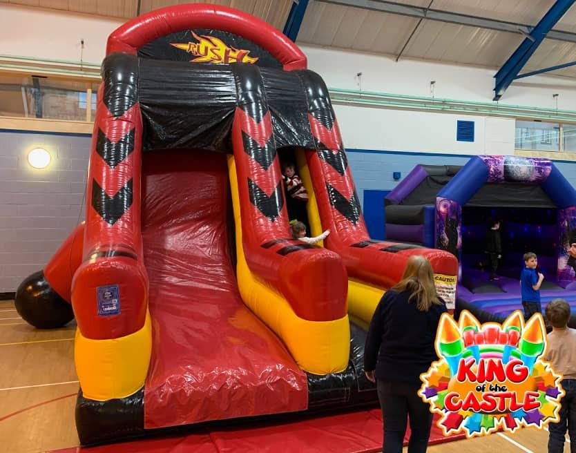 Inflatable Rush Slide