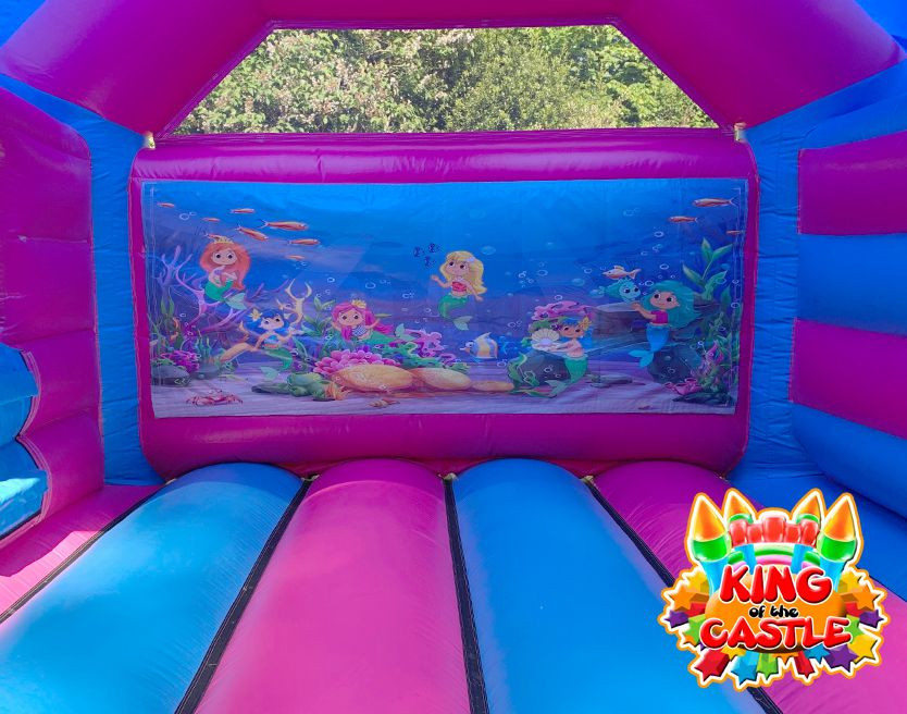 Mermaid Bouncy Castle with Slide