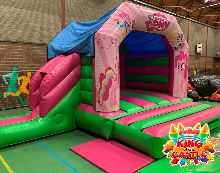 My Little Pony Disco Bouncy Castle