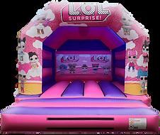LOL Surprise Bouncy Castle Hire Dunfermline