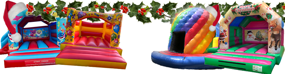 Bouncy Castle and Inflatable Hire.  Fife, Clackmannanshire, Kinross and Falkirk
