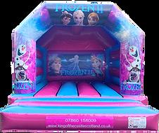 Frozen Bouncy Castle Hire Falkirk
