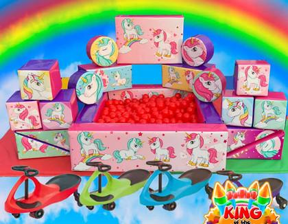 Unicorn Soft Play Hire