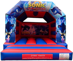 Sonic the Hedgehog Bouncy Castle Hire Falkirk