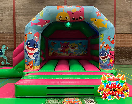 Baby Shark Disco Bouncy Castle