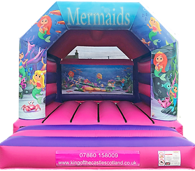 Mermaid Bouncy Castle