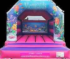 Mermaid Bouncy Castle Hire Larbert