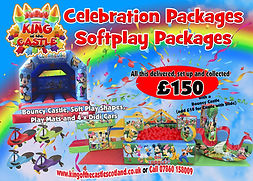 Mickey & Minnie Soft play Package