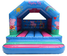 Peppa Pig Bouncy Castle Hire Fife