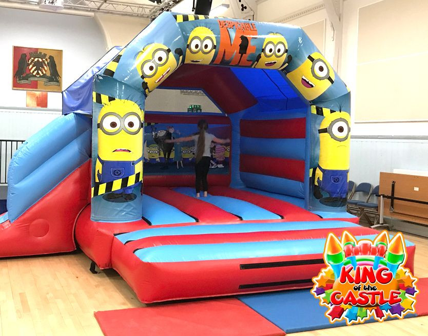 Minions Bouncy Castle with Slide