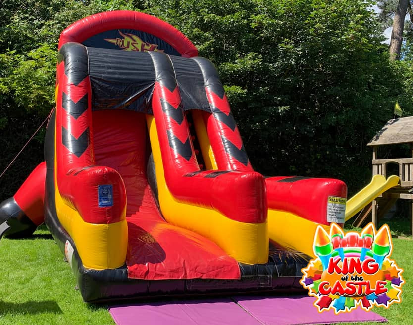 Inflatable Rush Slide