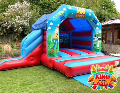 Toy Story Bouncy Castle with Slide