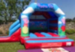 Peppa Pig Bouncy Castle with Slide