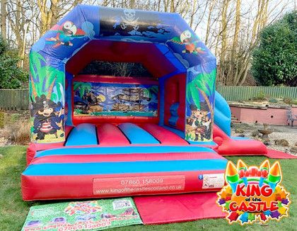 Pirates Bouncy Castle with Slide