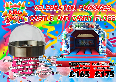 Bouncy Castle and Candy Floss