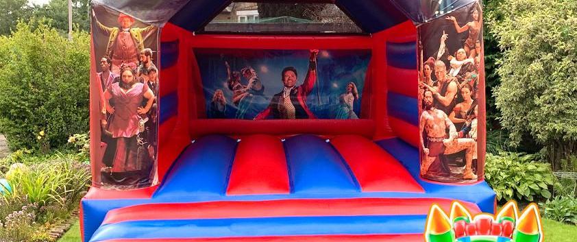 The Greatest Showman Bouncy Castle