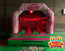 Disco My Little Pony Bouncy Castle with Slide Hire