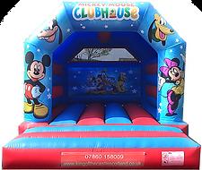 Mickey & Minnie Bouncy Castle Hire Fife