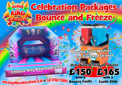 Bouncy Castle and Slush Machine Party Package